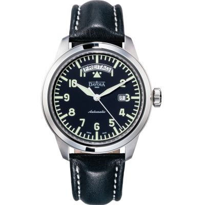 Mens Davosa Simplex Day Date Automatic Watch 16143156