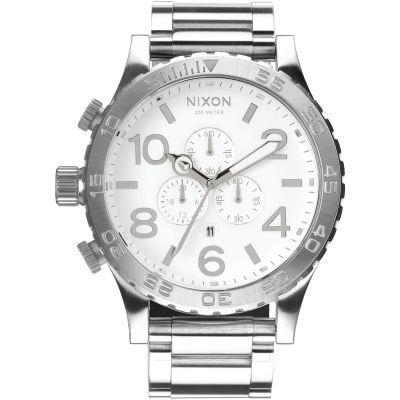 Nixon The 51-30 Chrono Herenchronograaf Zilver A083-488