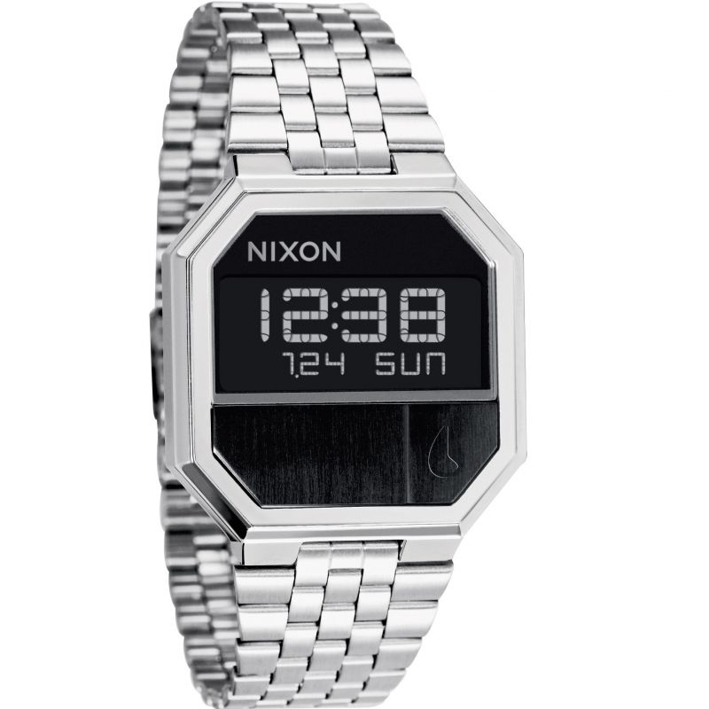 Unisex Nixon The Re-Run Chronograph Watch A158-000