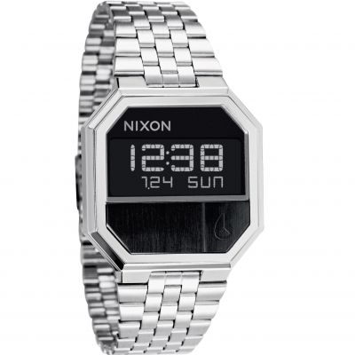 Nixon The Re-Run Unisexchronograaf Zilver A158-000