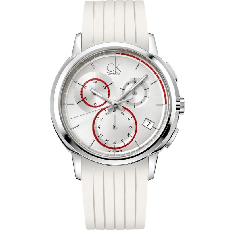 Unisex Calvin Klein Drive Chronograph Watch
