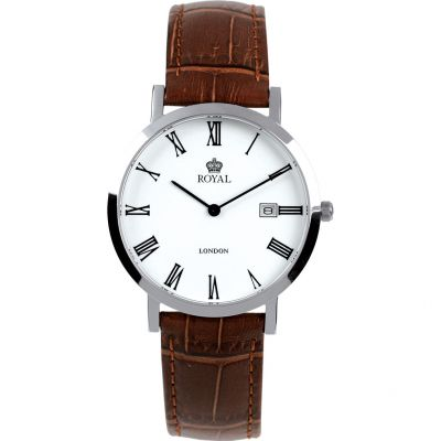 Royal London Herenhorloge Bruin 40007-01