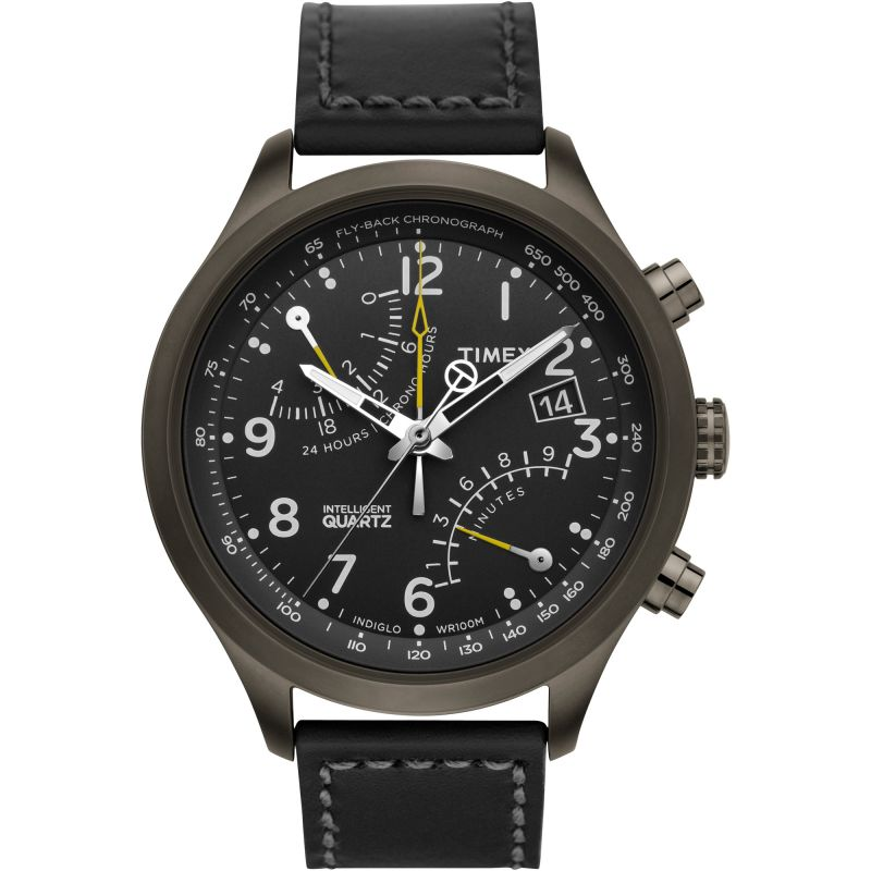 Mens Timex Fly-Back Chronograph Watch T2N699