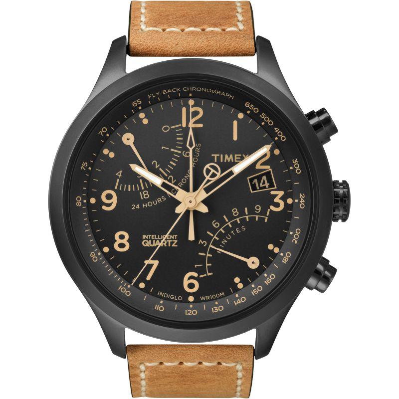 Mens Timex Indiglo Intelligent Quartz Chronograph Watch