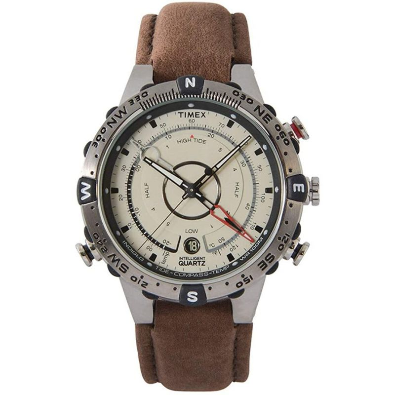 Mens Timex Intelligent Quartz Watch T2N721