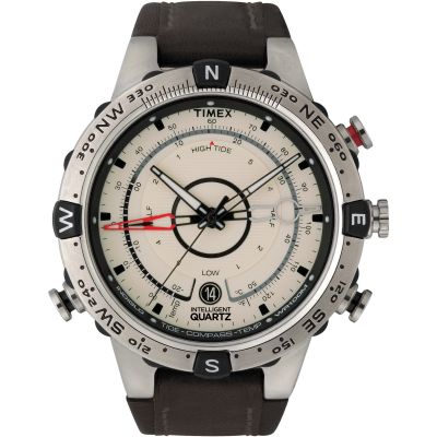Timex IQ Intelligent Quartz Herrenuhr in Braun T2N721