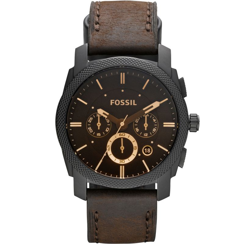 Mens Fossil Machine Chronograph Watch FS4656