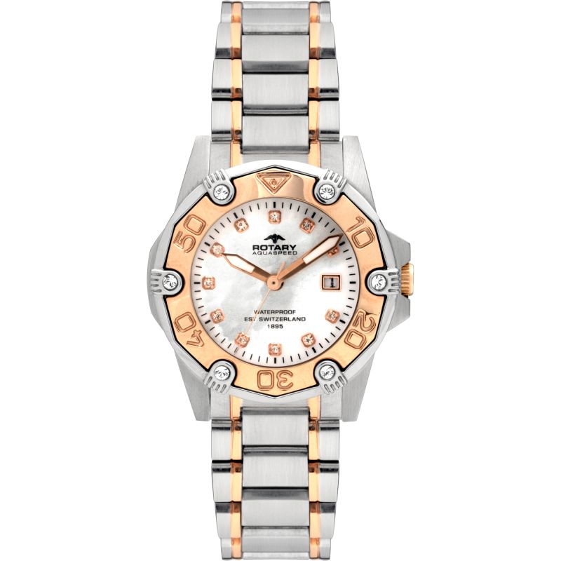 Image of  			   			  			   			  Ladies Rotary Aquaspeed Watch