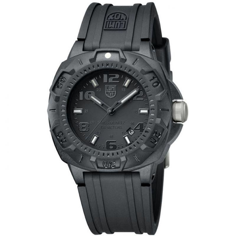 Mens Luminox Sentry 0200 Series Blackout Watch