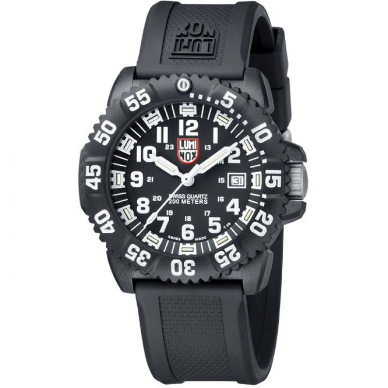 Mens Luminox Navy SEAL Colormark 3050 Series Watch A3051