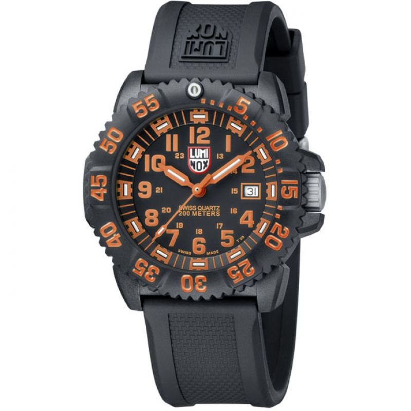 Mens Luminox Navy SEAL Colormark 3050 Series Watch A3059