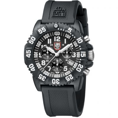 Mens Luminox Navy Seal Colormark 3080 Series Chronograph Watch A3081