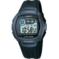 Mens Casio Classic Alarm Chronograph Watch W-210-1BVES