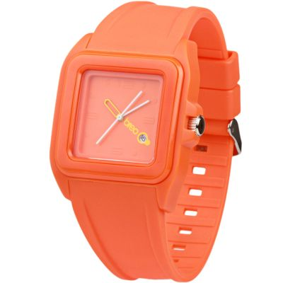 Montre Unisexe Breo Cube Orange B-TI-CUB1