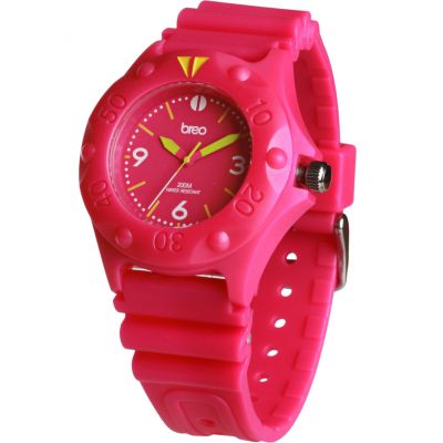 Mens Breo Pressure Pink Watch B-TI-PRS3