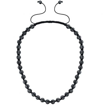 Gioielli da Unisex Shimla Jewellery Black Necklace SH-019