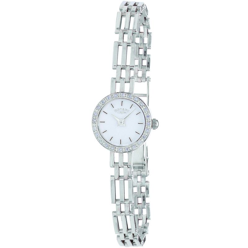 Ladies Rotary Silver Watch LB20225/02