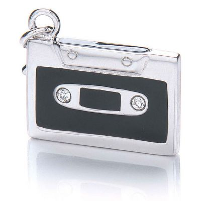 Ladies Royal London Sterling Silver Tape Charm RLSC0042