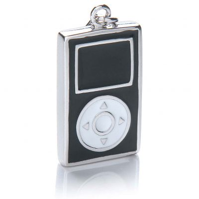 Ladies Royal London Sterling Silver MP3 Player Charm RLSC0060