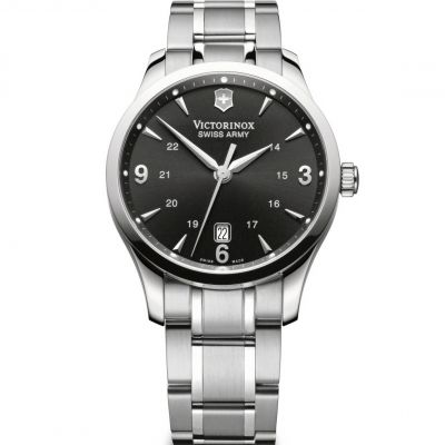 Victorinox Swiss Army Alliance Alliance Herrenuhr in Silber 241473