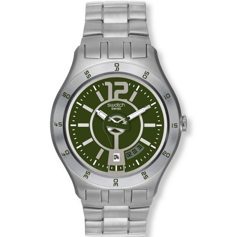Mens Swatch In A Green Mode Watch