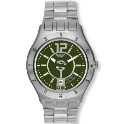 Swatch In A Green Mode Herenhorloge Zilver YTS407G