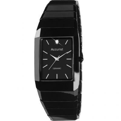 Mens Accurist London Ceramic Watch MB952