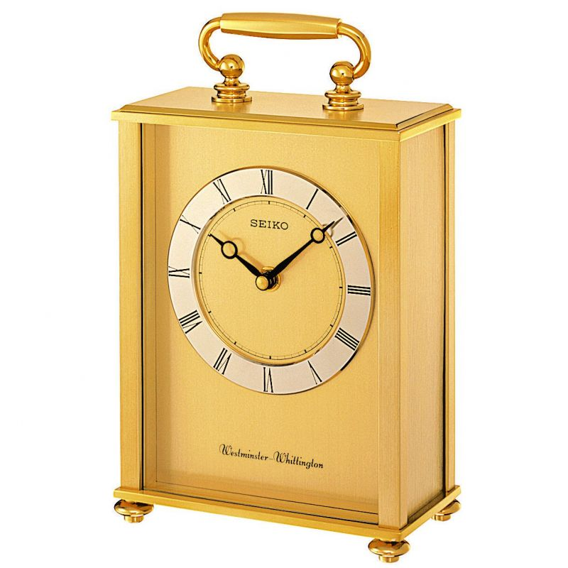 Seiko Clocks Chiming Carriage Clock QHJ201G