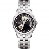 Mens Hamilton Jazzmaster Open Heart Automatic Watch H32565135