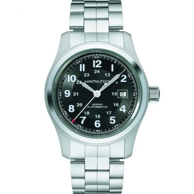 Mens Hamilton Khaki Field 42mm Automatic Watch H70515137
