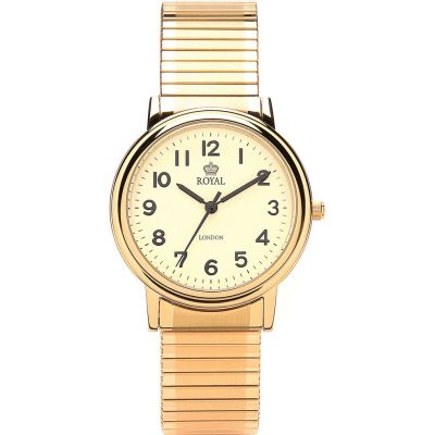 Royal London Herenhorloge Goud 40000-08