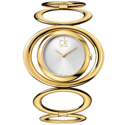 Calvin Klein Graceful Damenuhr in Gold K1P23520