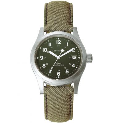 Mens Hamilton Khaki Officer Mechanical Watch H69419363