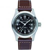 Mens Hamilton Khaki Field 42mm Automatic Watch H70555533