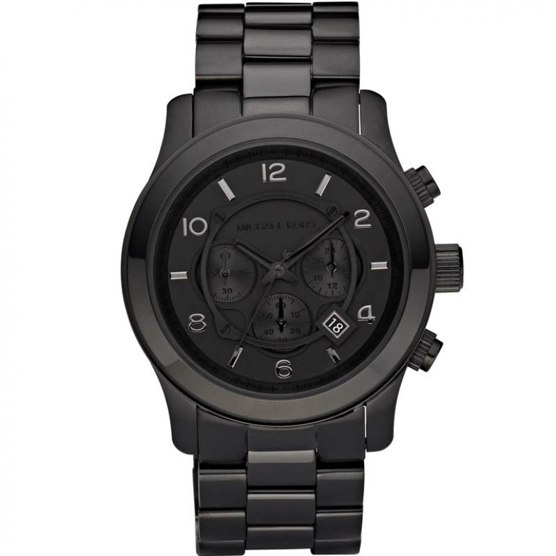 Mens Michael Kors Runway Chronograph Watch MK8157
