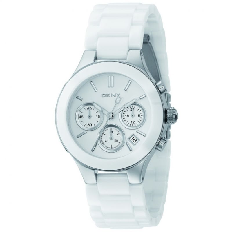 Ladies DKNY Chambers Chronograph Watch
