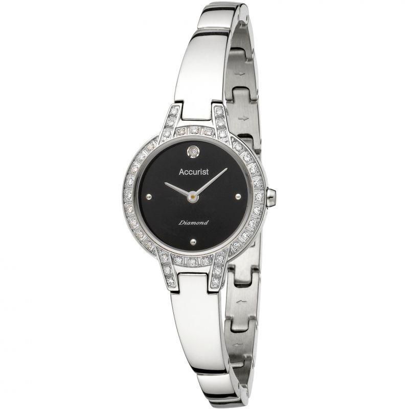 Ladies Accurist Pure Precision Diamond Watch
