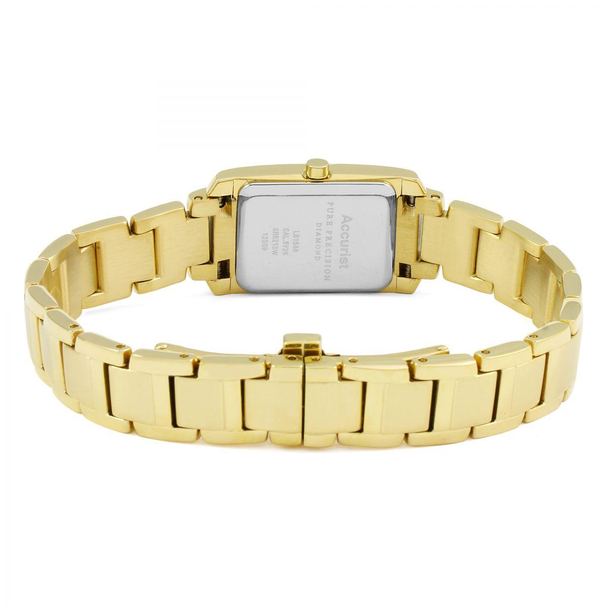 Ladies Accurist Pure Precision Watch (LB1588RN ...