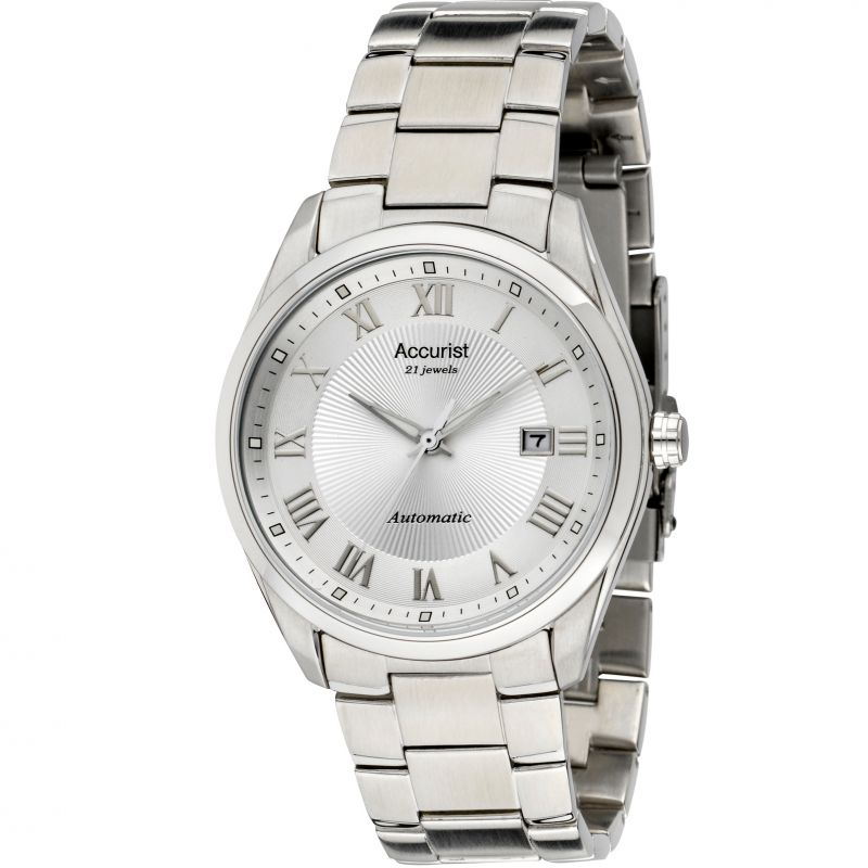 Mens Accurist Pure Precision Classic Collection Automatic Watch MB916S