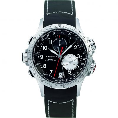 Mens Hamilton Khaki ETO Flyback Chronograph Watch H77612333