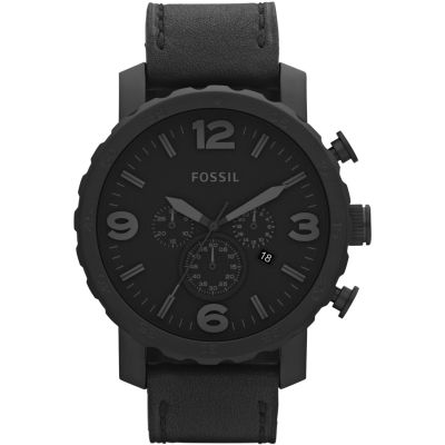 Fossil Nate Herrenchronograph in Schwarz JR1354