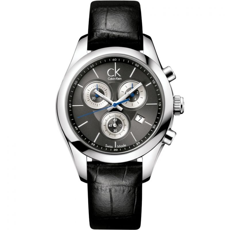 Mens Calvin Klein Strive Chronograph Watch K0K28161