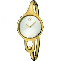 Ladies Calvin Klein Air Small Bangle Watch K1N23526