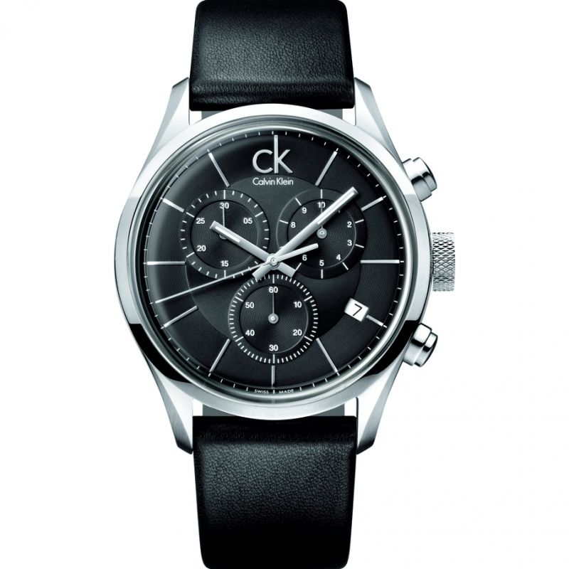 Mens Calvin Klein Masculine Chronograph Watch