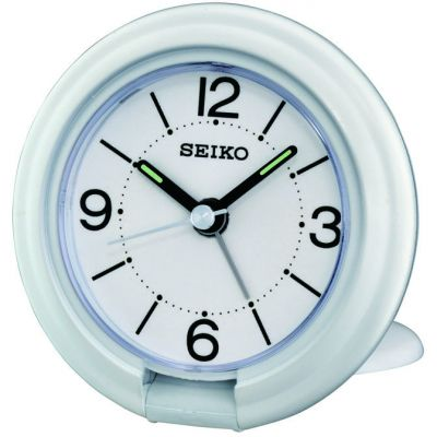 Seiko Clocks Travel Alarm Clock QHT012W