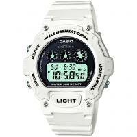 Mens Casio Sport Alarm Chronograph Watch W-214HC-7AVEF