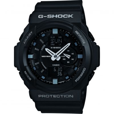 Mens Casio G-Shock Alarm Chronograph Watch GA-150-1AER