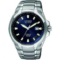 Mens Citizen Titanium Watch BM7170-53L