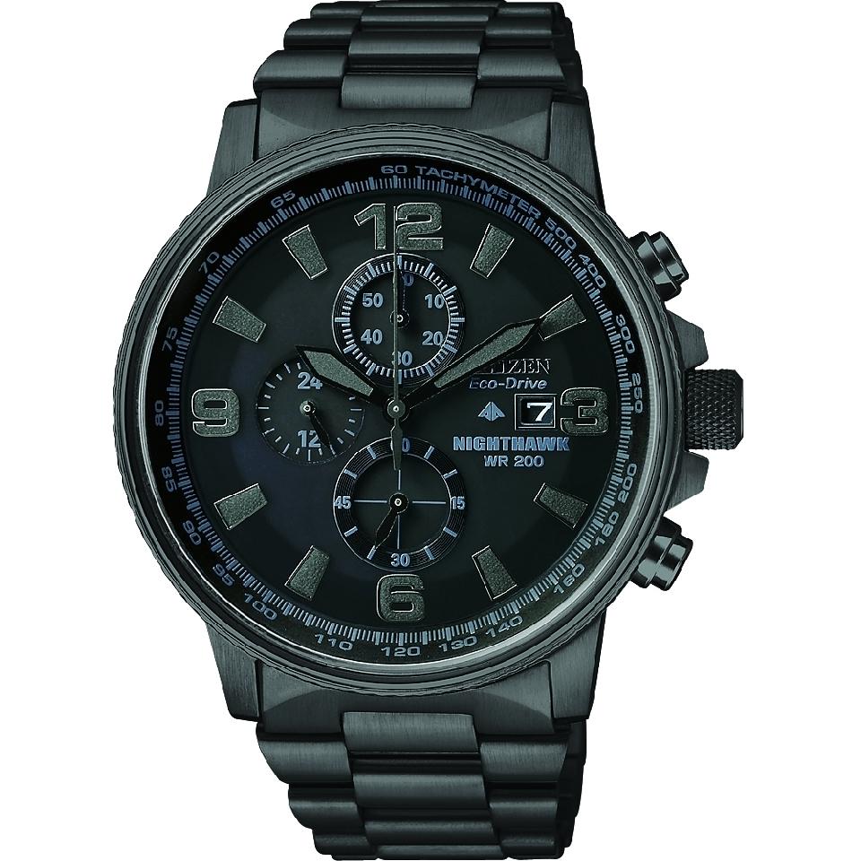 00cf98389 Gents Citizen Nighthawk Chronograph Watch (CA0295-58E)   WatchShop.com™