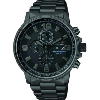 Mens Citizen Nighthawk Chronograph Watch CA0295-58E